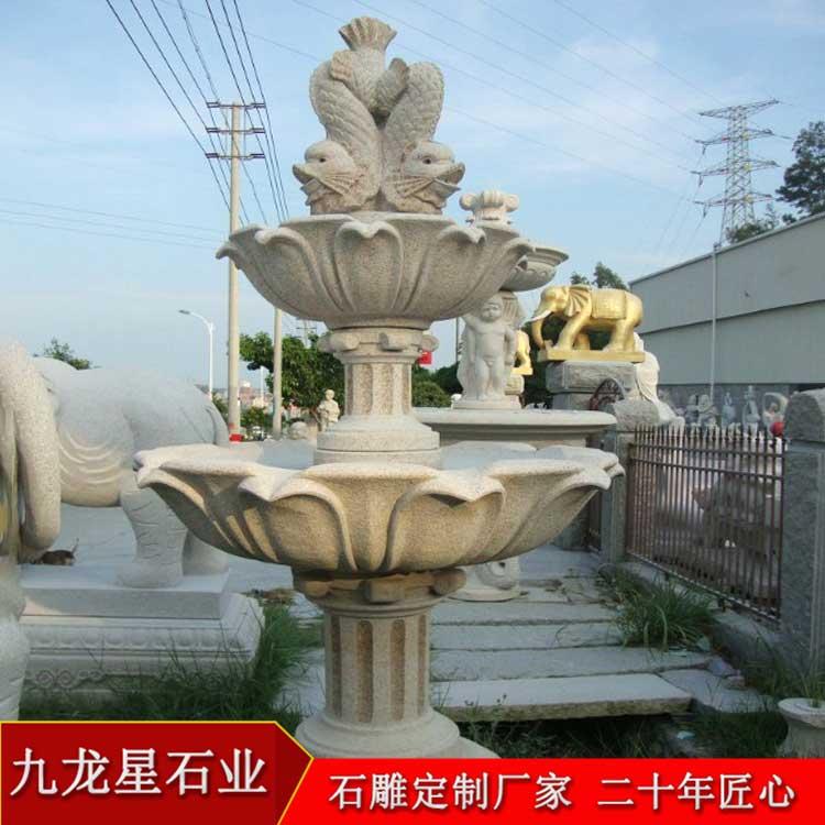 大理石水钵价格 石雕喷泉厂家哪里有