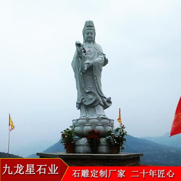哪里有卖观音菩萨像 石材观音菩萨雕刻像