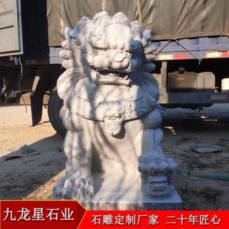 白麻石狮子▪湖南