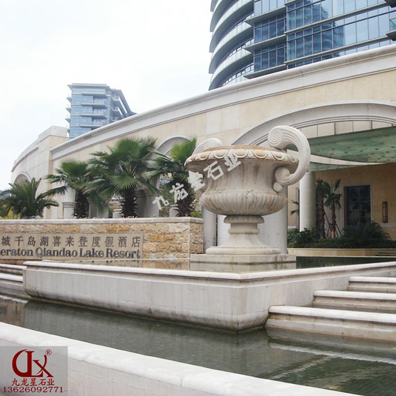 杭州千岛湖▪入口石雕喷泉 石雕喷泉花盆