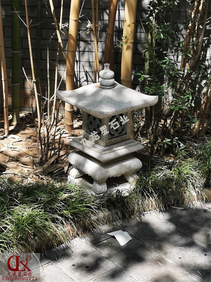 陕西省西安市▪花岗岩石雕灯笼